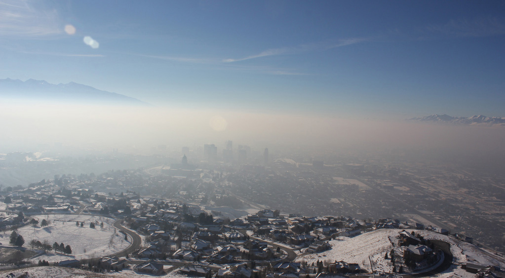 salt pollution Perhaps, during the 27 red- or orange-air quality days salt lake city experienced through­out last winter's inversion season, your eyes did not smart your throat and chest did not burn.