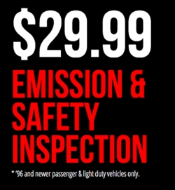 Emission Time Inspection Coupon