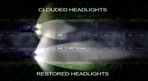 Headlight nighttime visibility