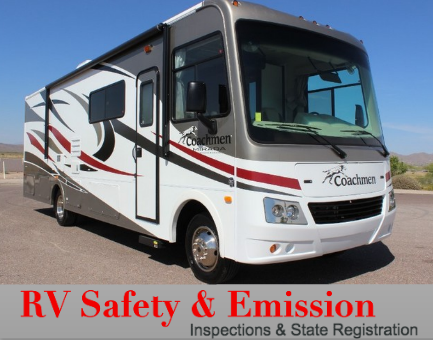 Emission Time Salt Lake City Sandy RV Safety and Emissions